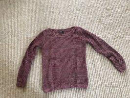 Takko Długi sweter głęboka czerwień