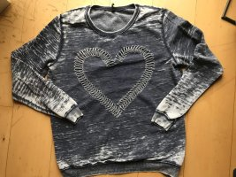 Pullover, Used-Look