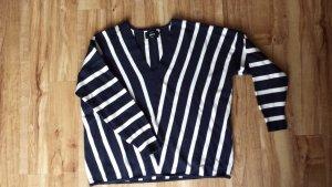 Pullover V-Ausschnitt gestreift