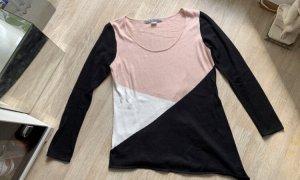 Ashley Brooke Kraagloze sweater veelkleurig