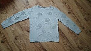 Aust Sweter jasnoszary