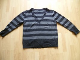 Blue Seven Fine Knit Jumper black-dark grey