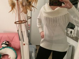 Calvin Klein Long Sweater white