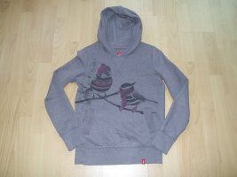 edc by Esprit Hooded Sweater grey lilac-mauve
