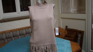 Apart Long Cardigan sand brown mixture fibre