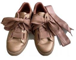 PUMA Basket Heart Sneaker Rosé Copper Metallic BLOGGER Gr.36
