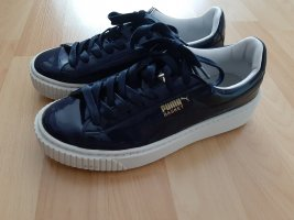 Puma Basket in Lack-Optik