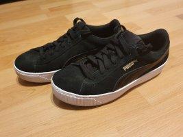 Puma Basket Plattform gr. 38 schwarz weiß Sneaker Turnschuhe