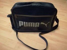 Puma College Bag white-blue