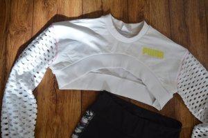 Puma Sportshirt wit-roze