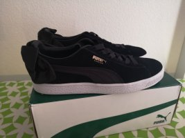 Puma Wedge Sneaker black