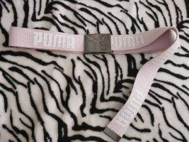 Puma Ceinture en tissu rose clair