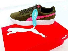 puma Leder Sneaker Schuhe Gr.38