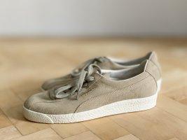 PUMA Leder Sneaker Turnschuhe Schuhe beige Leder 37 NEU