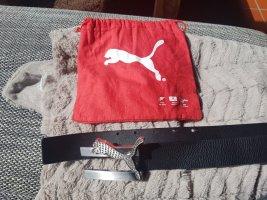 Puma Ledergürtel mit Glitzersteinen