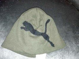 Puma Cappello in tessuto grigio-verde-verde scuro