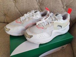 Puma Rise Contrast Wn's Sneaker Turnschuhe weiß silber schuhe gr. 38,5