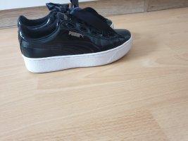 Puma Sneakers met veters wit-zwart
