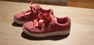 Moda Puma Tacones de plataforma rosa