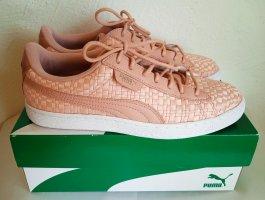 PUMA, Sneaker, Basket Satin, 40,5, NP 89€, Textil, Rosé, chicer Satinglanz, STYLISH