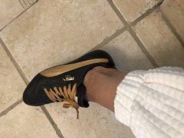 Puma Sneaker  braun Gold 38