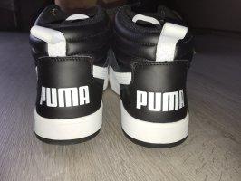 Puma Basket montante noir-blanc