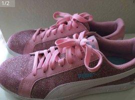 Puma Sneaker Rosa Glitzer