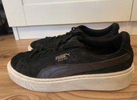 Puma sneaker schwarz/weiß