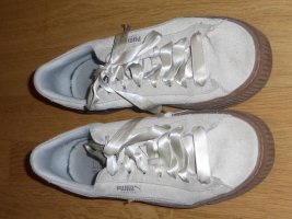 Puma Sneaker weiß Nubuk
