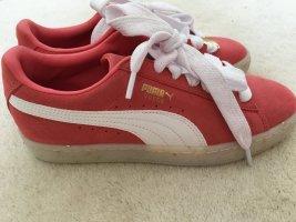 Puma Suede Classic BBOY Fabulous Sneakers in Coral *ungetragen*