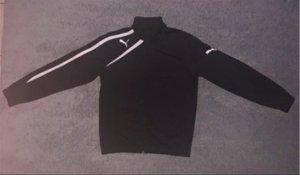Puma Giacca sport nero-bianco