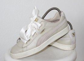 PUMA Turnschuhe Damen Schuhe Sneaker Gr 40 40,5 LEDER