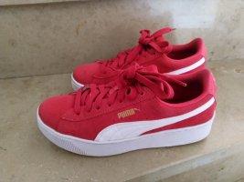 Puma Vikky Platform Pink-White