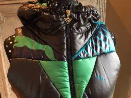 Puma - Weste dunkelblau türkis grün neu