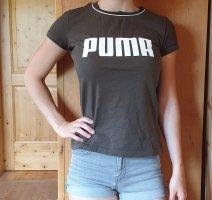 Puma Camisa deportiva blanco-verde bosque