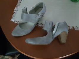 Marco Tozzi Chaussure décontractée gris clair