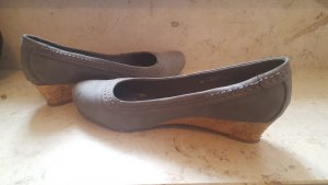 Ariane Escarpins gris clair-gris