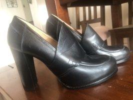 David Braun Slip-on Shoes black leather