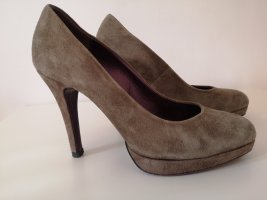 5th Avenue High Heels grey brown