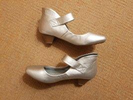 Macarena Strapped pumps silver-colored