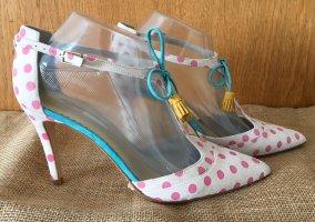 Boden Zapatos de tacón con barra en T multicolor