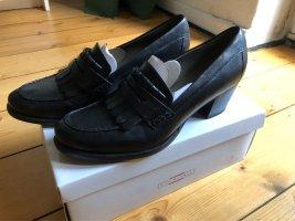 5th Avenue Zapatos Informales negro Cuero