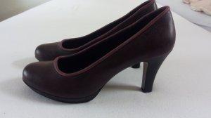 Bugatti Classic Court Shoe black-bordeaux