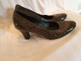 mit schwarz Schuhe Pumps Maripe Plateau NEU ungetragen und
