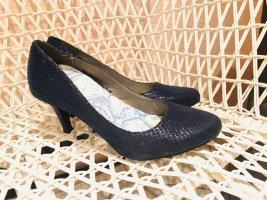 Pumps dunkelblau Gr. 38 Schuhe blau
