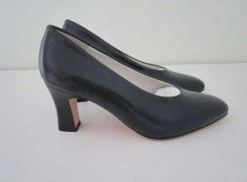 Loafer blu Pelle