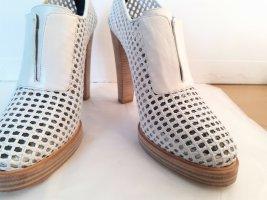 Balenciaga High Heels white leather