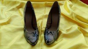 Graceland Hoge hakken zwart-beige