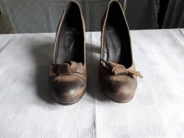 Otto Kern Loafers khaki-brown leather