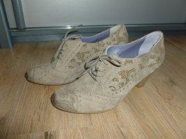 Pumps Schuhe beige braun Ralph Harrison Neu